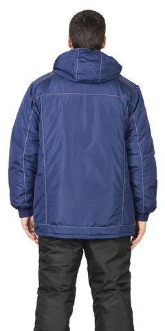 Куртка  зимняя, мужская, цв. т-синий