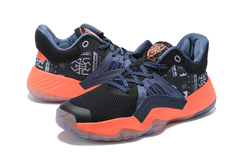 adidas D.O.N. Issue 1 'Black/Orange/Blue'