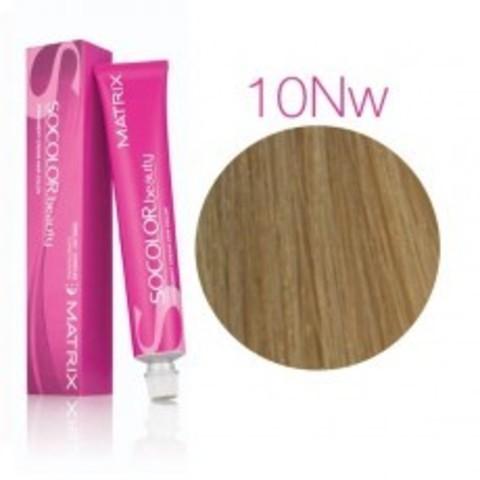 Matrix SOCOLOR.beauty: Neutral Warm 10NW очень-очень светлый блондин натуральный теплый, краска стойкая для волос (перманентная), 90мл