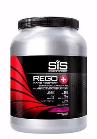 Напиток посттренировочный углеводно-белковый + BCAA Science in Sport REGO Rapid Recovery Plus, Малина, 490 гр