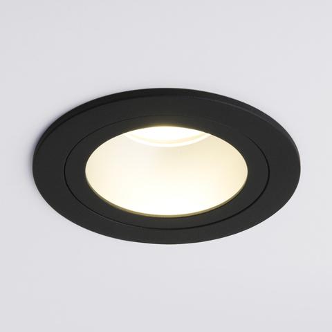Встраиваемый точечный светильник 122 MR16 серебро/черный