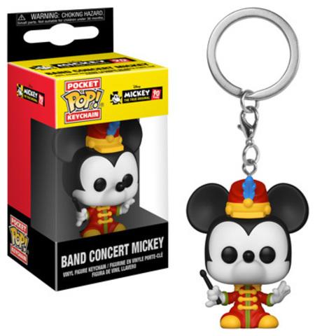 Брелок Микки Маус || POP! Keychain Band Concert Mickey
