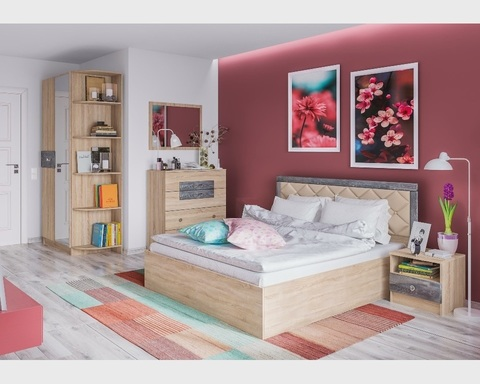 Спальня модульная МАДЛЕН-3