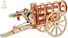 Пушка от M-WOOD - Деревянный Конструктор, сборная модель, 3D пазл