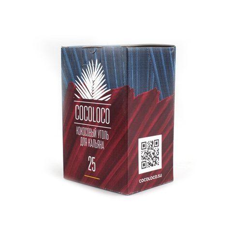 Уголь COCOLOCO 25 кубик (72 штуки)
