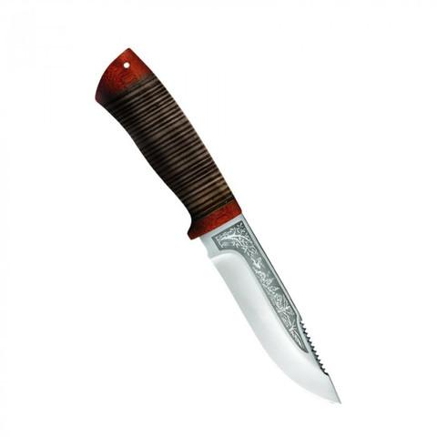 Нож Стрелец, кожа, 100х13м