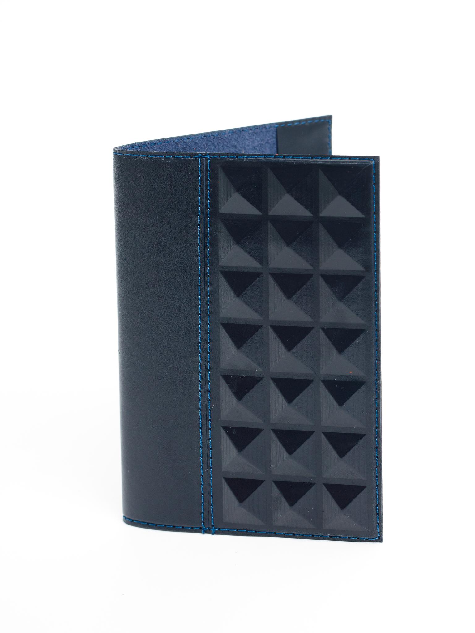Обложка на паспорт | Геометрия | Синий
