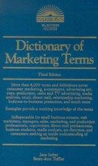 Dictionary of Marketing Terms  3e