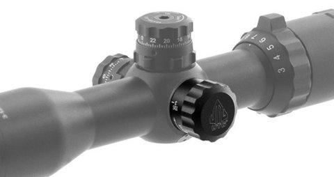 Прицел LEAPERS BugBuster 3-12X32 AO Compact 25,4 мм, с подсветкой кр./зел., Mil-Dot с кольцами