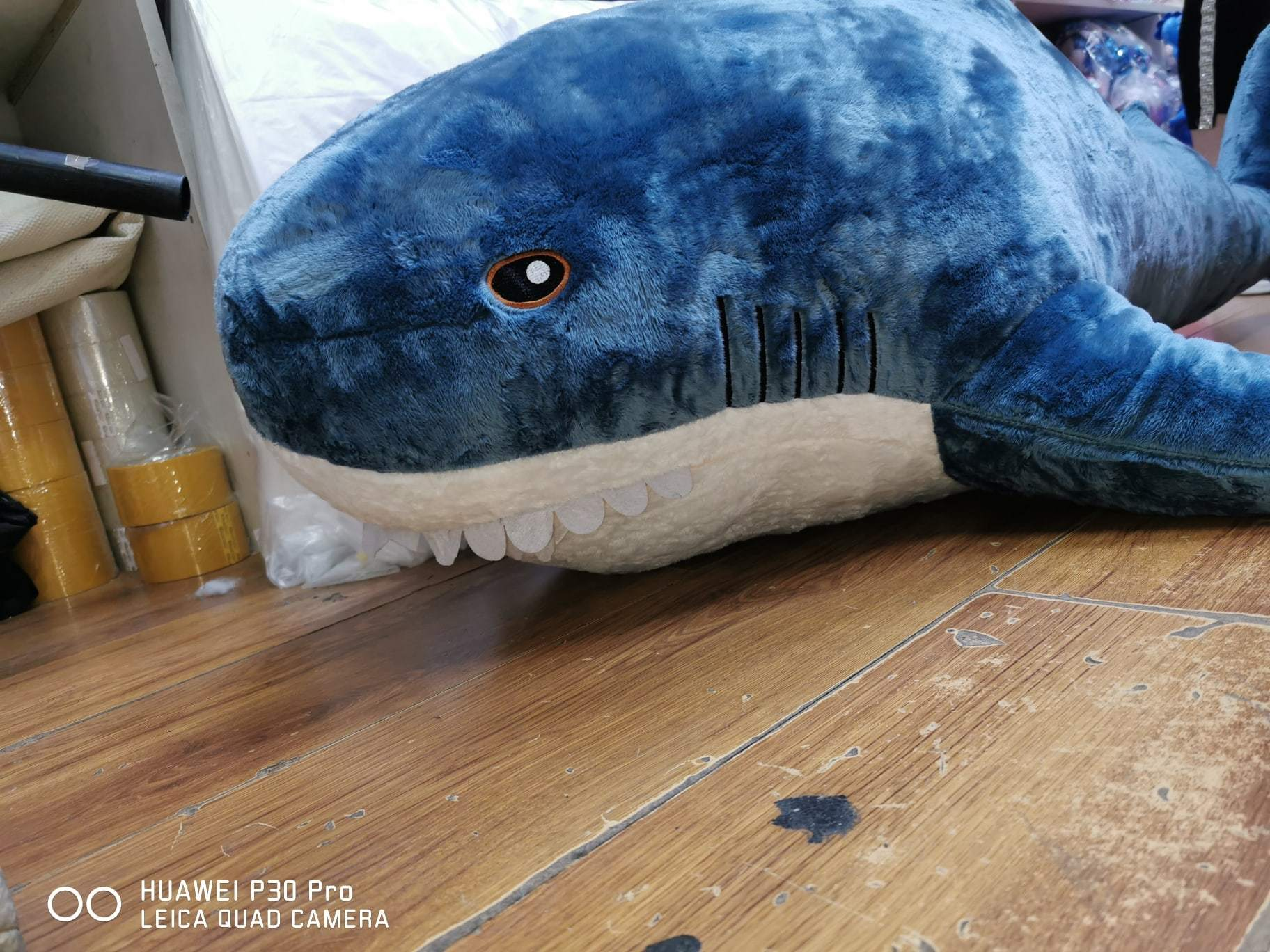 Акула большая 80 см мягкая игрушка