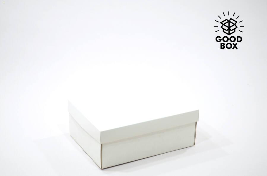 Белая крафт коробка недорого в Алматы