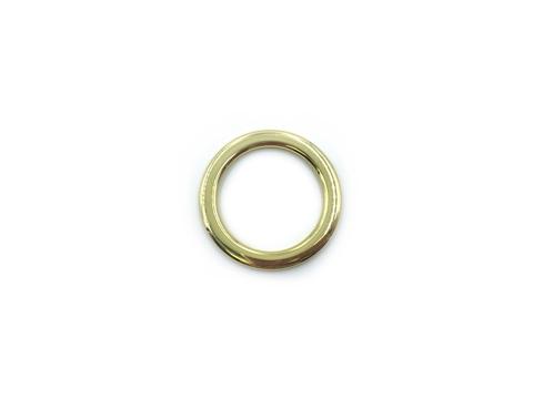 Кольцо желтое золото 34 мм (пластик)