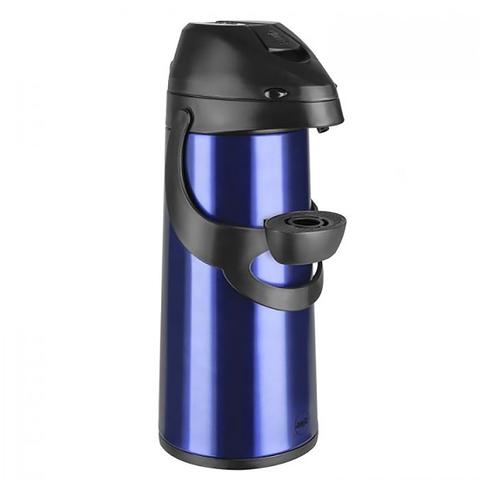 Термос Emsa Pronto с пневмонасосом (1,9 литра), синий