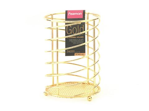 8931 FISSMAN Gold Подставка для кухонных инструментов,  купить