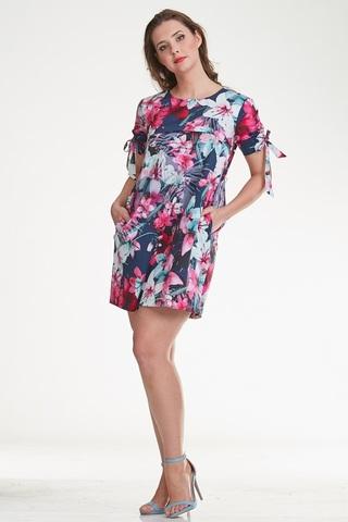 Платье для беременных и кормящих 10298 лиловый