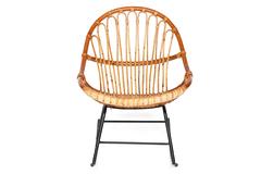 Кресло Secret De Maison Петунья (Petunia) (mod. 01 5088 SP KD/1-1) — светлый мед/черный