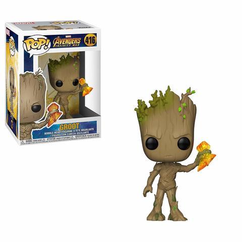 Фигурка Funko POP! Marvel: Avengers Infinity War S2: Groot Stormbreaker 35773 (уценка)