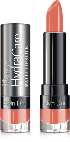 Alvin D`or Губная помада матовая HydraCare matte lipstick (тон 01) ADL-14 3,7г