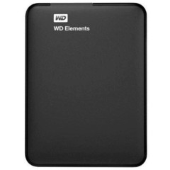 Внешний жесткий диск WD Elements Portable 4Tb (WDBW8U0040BBK-EEUE)