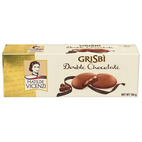Печенье сдобное Grisbi с шоколадным кремом 150 г