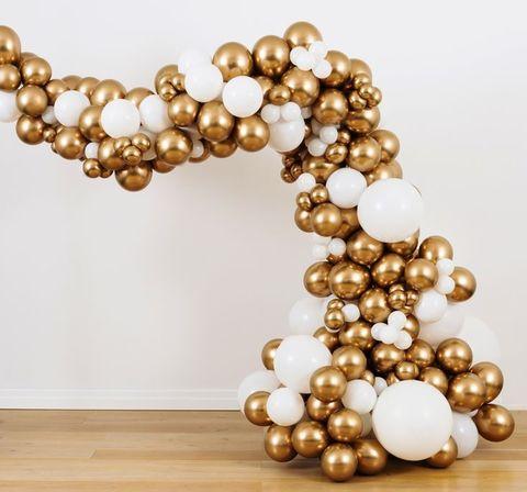 Разнокалиберная арка из воздушных шаров №4