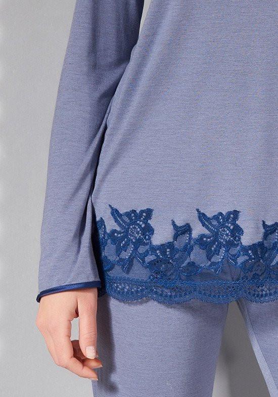 Голубая пижама Verdiani