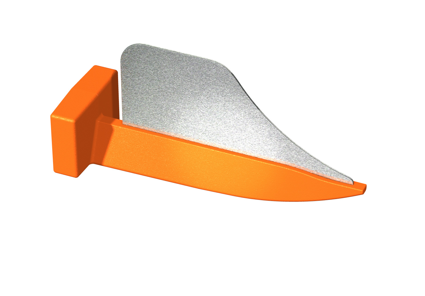 Клинья с матрицей DIRECTA FenderWedge Small Orange