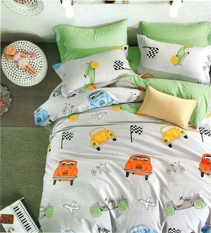 Подростковое постельное белье хлопок 1,5 сп.  RULE