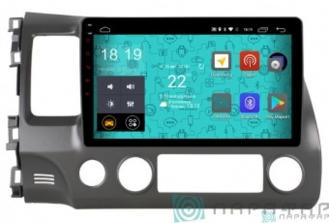 Штатная магнитола 4G/LTE Honda Civic 06-11 Android 7.1.1 Parafar PF044