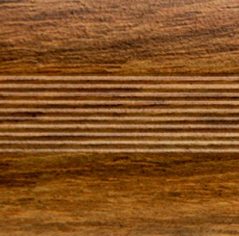 Русский профиль Стык с дюбелем 35мм 0,9 дуб медовый