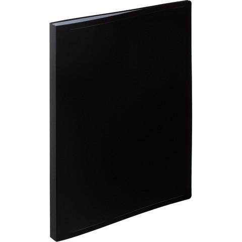 Папка файловая на 20 файлов Attache черная