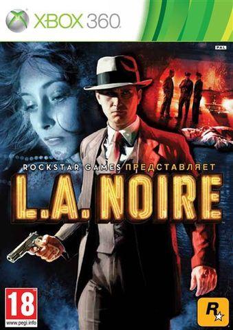 L.A.Noire (Xbox 360, английская версия)