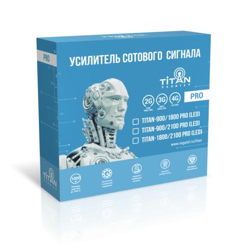 Готовый комплект Titan-1800/2100 PRO (LED)