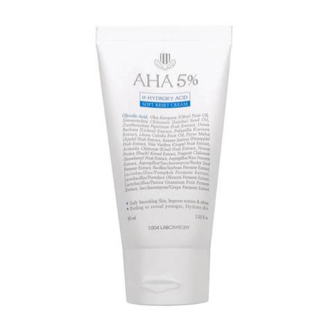 1004 Laboratory AHA 5 Soft Reset Cream Обновляющий крем с AHA-кислотами
