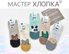 Носки детские для мальчиков (10 пар) арт.DA7033 (разм  5-8)