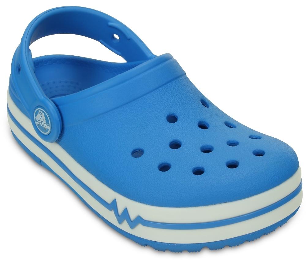 Детские мигающие сабо CrocsLights Clogs