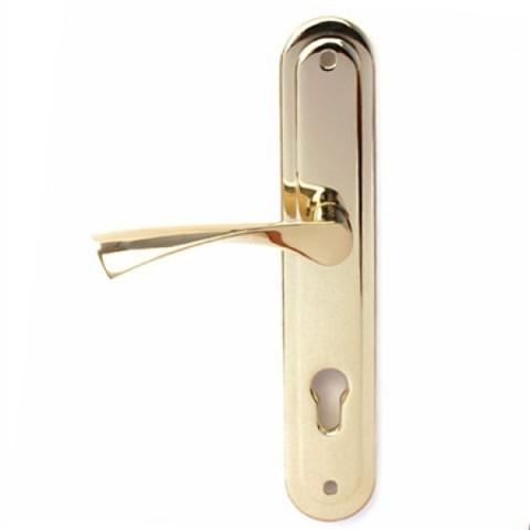 Ручки на планке  Р-С 023 G золото (НР-85.0423-G)