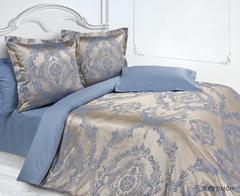 Жаккардовое постельное бельё 1,5 спальное, Клермон