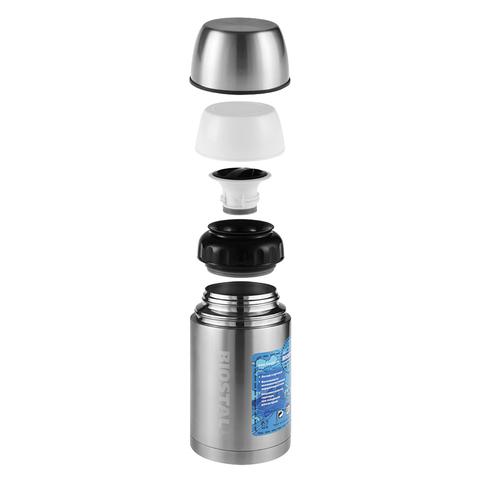 Термос универсальный (для еды и напитков) Biostal Авто (1 литр), стальной