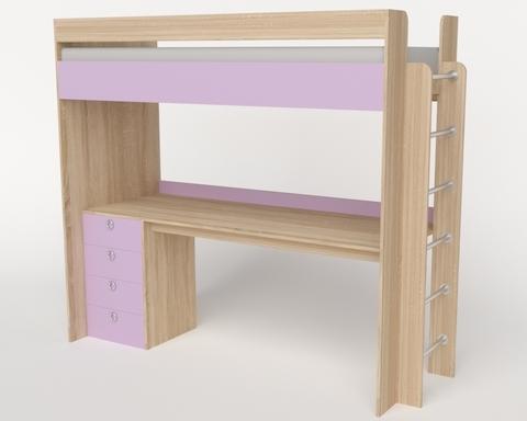 Кровать-стол ШИБУЯ-2 правая