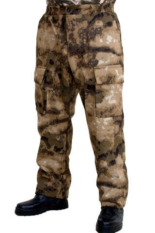 Камуфляжные брюки Скат (твил )
