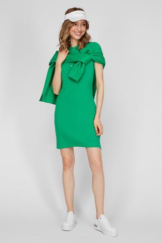 Женское зеленое платье Tommy Hilfiger