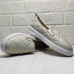 Слипы туфли женские Alpino 21YA-Y2859 Cream.
