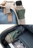 Рюкзак Doughnut Macaroon Mini Classic Серый + Бордовый