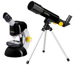 Комплект микроскоп+телескоп Bresser National Geographic