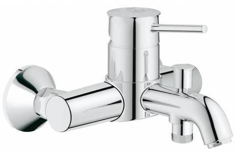 Смеситель для ванны GROHE BauClassic, хром (32865000)