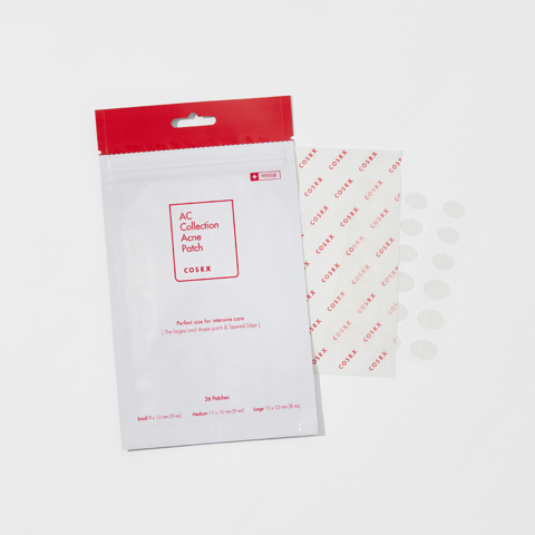 Антибактериальные патчи от прыщей с центеллой, 26 шт. / Cosrx AC Collection Acne Patch
