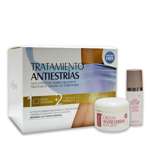 Levissime Anti Strecht Marks Control Cream & Rosa Mosqueta Oil Pack