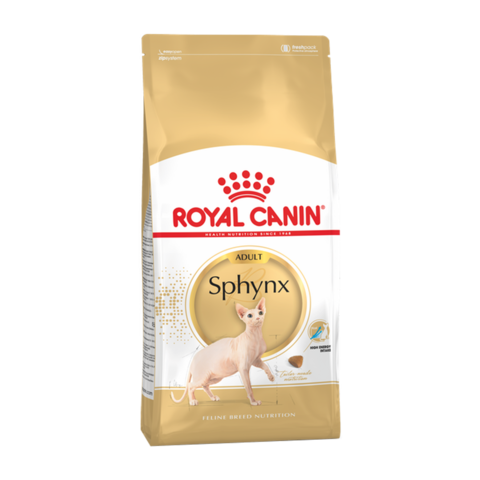 Royal Canin Sphynx Сухой корм для взрослых кошек породы Сфинкс