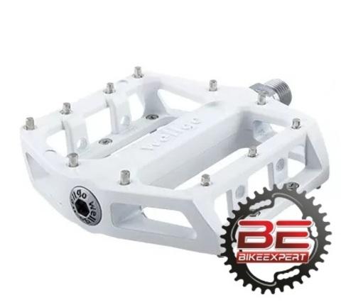 Педали Wellgo В087-B белые
